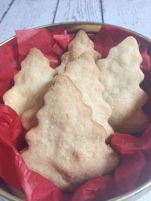 Orange Spice Shortbread Cookies