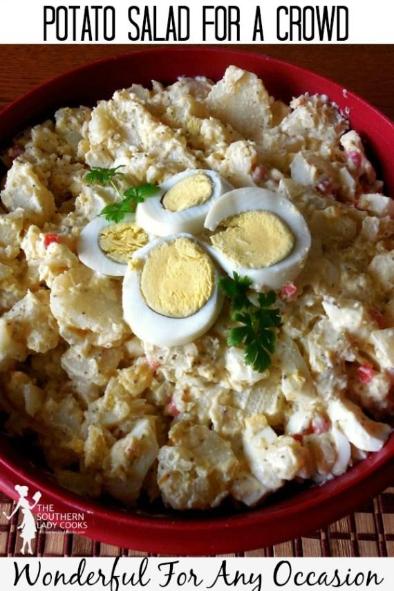 Potato Salad for a Crowd