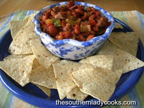Green Chili Pinto Bean Tomato Recipe The Southern Lady Cooks