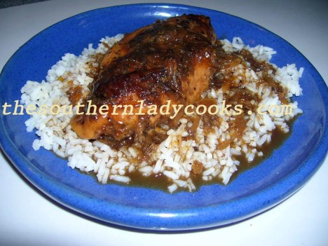 Spicy Apricot Chicken - Copy