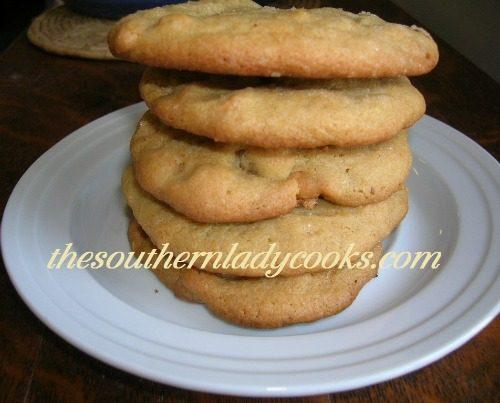 Butterscotch Peanut Butter Cookies