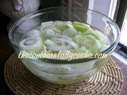 Cucumbers in Vinegar