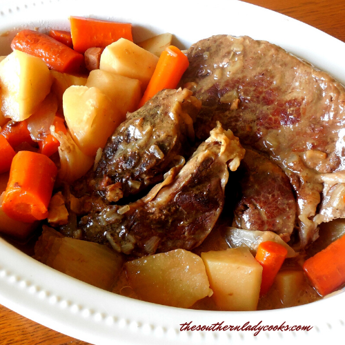 Crock Pot Roast Beef - The Southern Lady Cooks