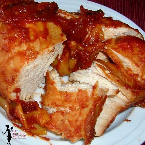 Slow Cooker Manwich Chicken