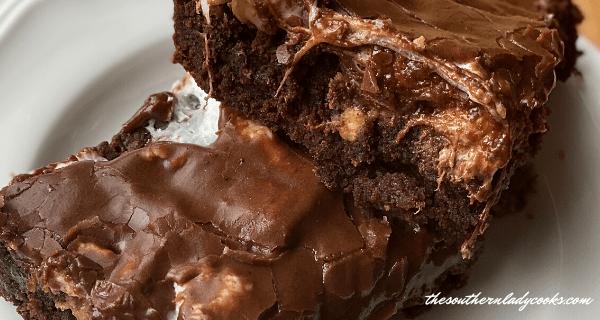 CHOCOLATE, PEANUT BUTTER, BUTTERSCOTCH BROWNIES