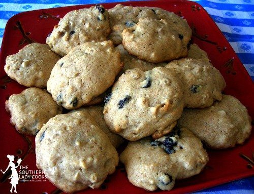 Honey Nut Cookies