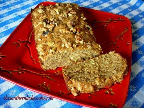 Pineapple Banana Bread with Nutty Vanilla Wafer Topping The Southern Lady Cooks
