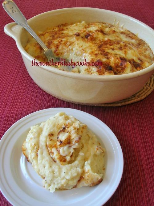 Mashed Potato Casserole-The Southern Lady Cooks
