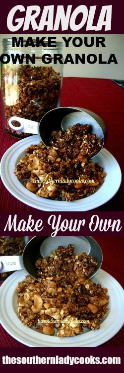 Make Your Own Homemade Granola