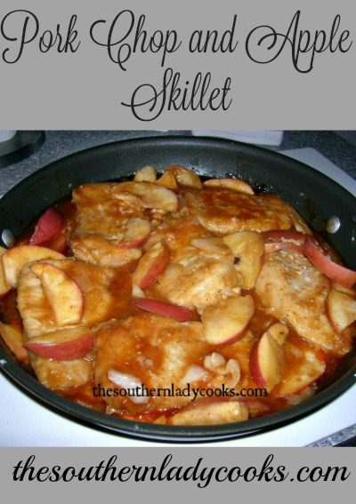 Pork Chop and Apple Skillet