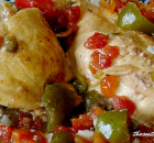 CROCK POT PICANTE CHICKEN