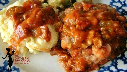 Sweet & Sour Hamburger Steak and Gravy