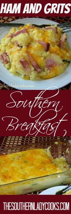 southern-ham-and-grits