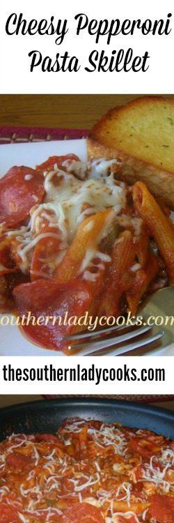 cheexy-pepperoni-pasta-skillet