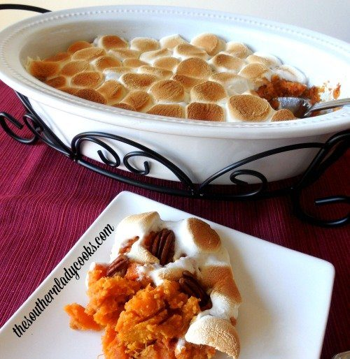 Baked Sweet Potato Casserole The Southern Lady Cooks