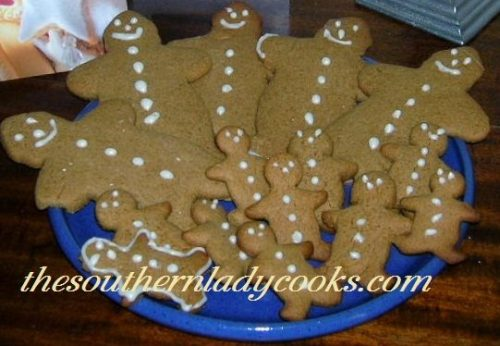 Gingerbread man cookies - Copy