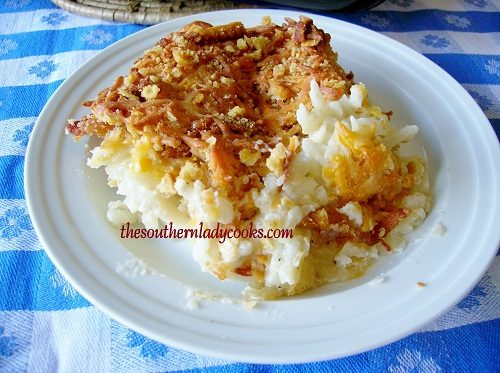 Cheesy Hash Brown Casserole - TSLC