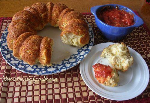 Cheesy Pull-A-Part Italian Bread - TSLC