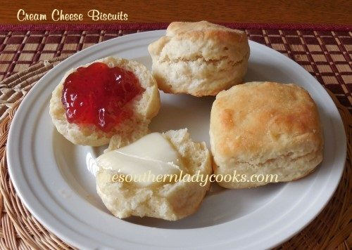 Cream Cheese Biscuits - TSLC