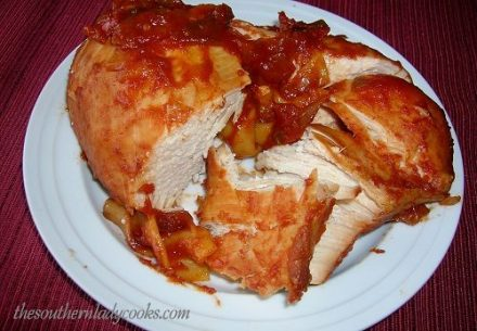 Crock Pot Manwich Chicken - TSLC