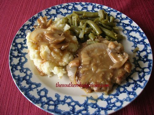 Hamburger Steak and Gravy - TSLC