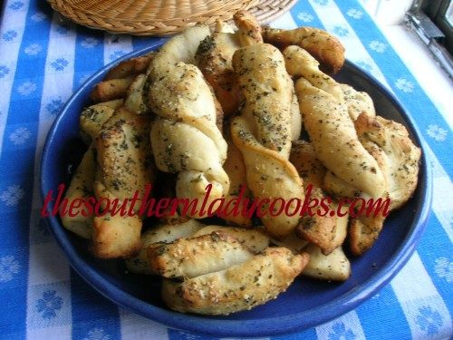 Herb Biscuit Twists - TSLC