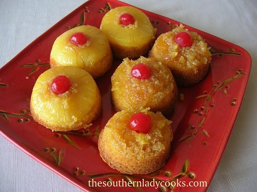 Pineapple Upside Down Cupcakes TSLC