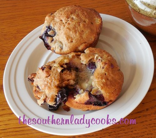 Pineapple Blueberry Bran Muffins - TSLC