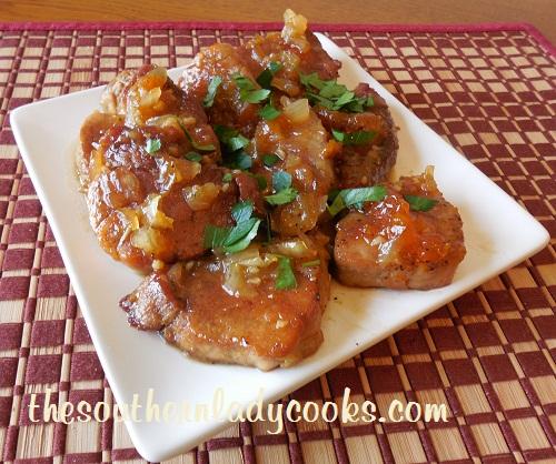 Apricot Honey Pork Loin - TSLC