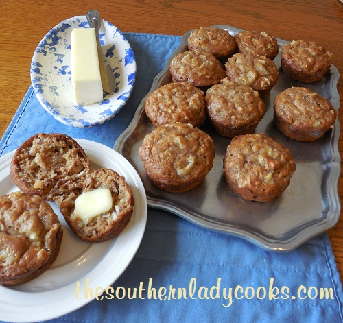 Pineapple, Banana and Coconut Muffins - TSLC