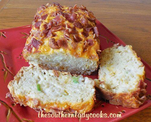 Cheesy Bacon Apple Bread - TSLC - Copy