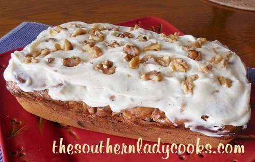 Chocolate Chip Cream Cheese Pumpkin Bread-The Southern Lady Cooks
