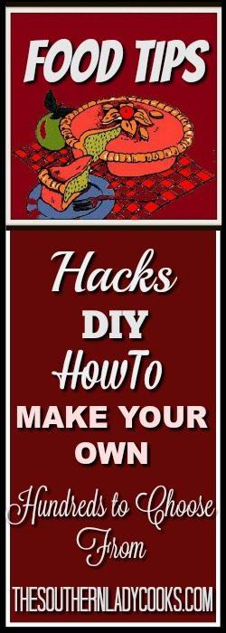 tips, hacks, diy, make your own