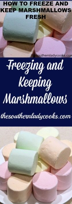 How to Freeze and Keep Marshmallows Fresh