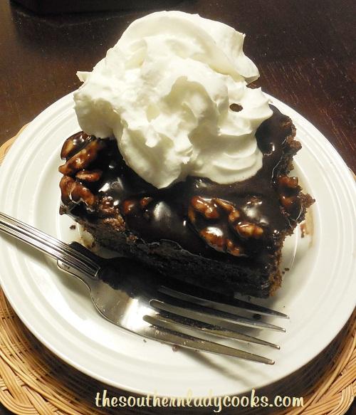 Chocolate Mayonnaise Snackin' Cake - TSLC - Copy