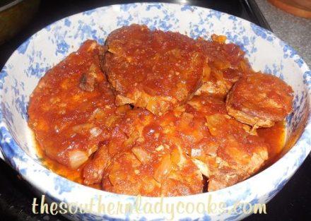 Crock Pot Coca Cola Pork Chops TSLC