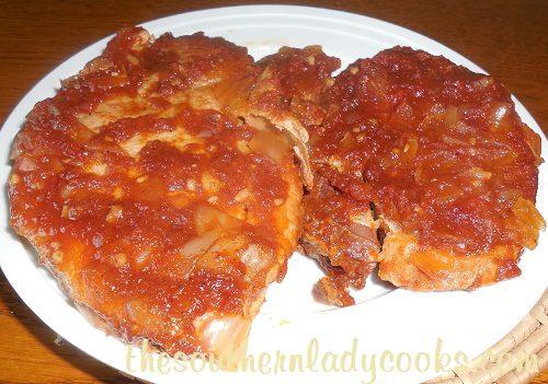 Crock Pot Coca Cola Pork Chops -TSLC