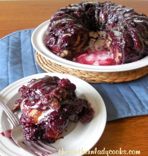 Southern Lady's Cinnamon Roll Blackberry Brunch Bread - TSLC (2)