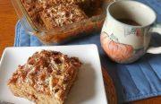 APPLESAUCE MARSHMALLOW COFFEE CAKE