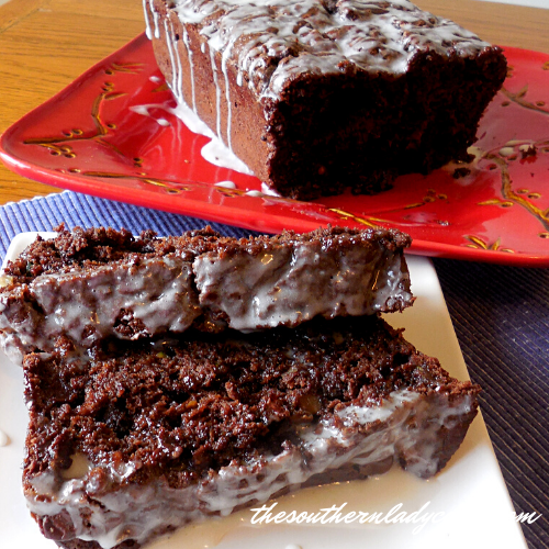 Chocolate Zucchini Bread - The Southern Lady Cooks