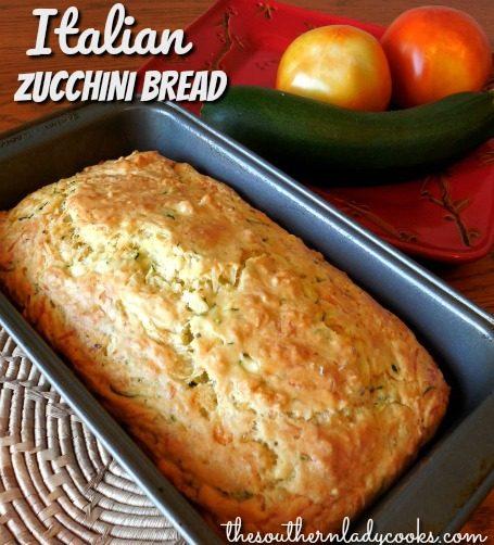 ITALIAN ZUCCHINI BREAD - The Southern Lady Cooks