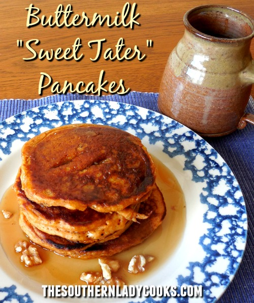 Buttermilk Sweet Potato Pancakes