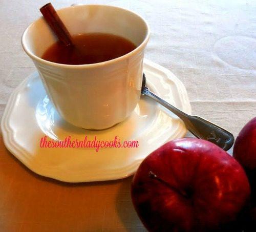 Easy Crock Pot Mulled Apple Cider