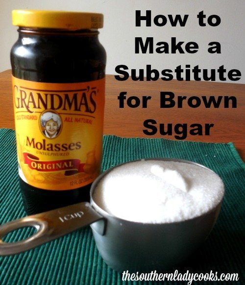 How to Make Your Own Brown Sugar The Southern Lady Cooks