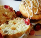 WHITE CHOCOLATE CHIP CRANBERRY MUFFINS