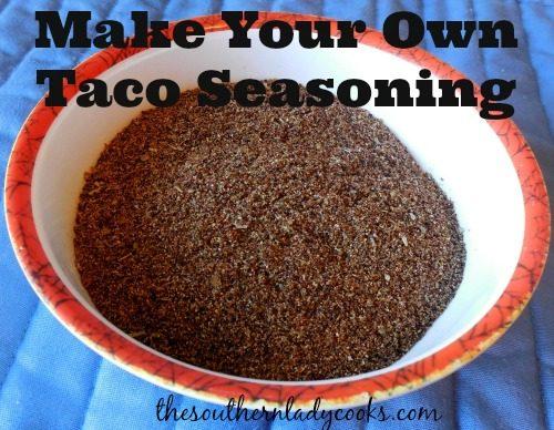 Make Your Own Taco Seasoning5