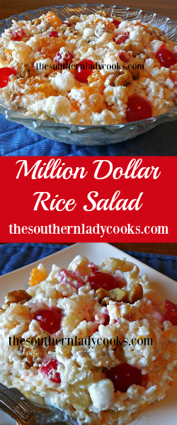 The Southern Lady Cooks Million Dollar Salad