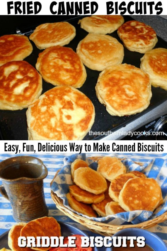 How to Make Fried Canned Biscuits