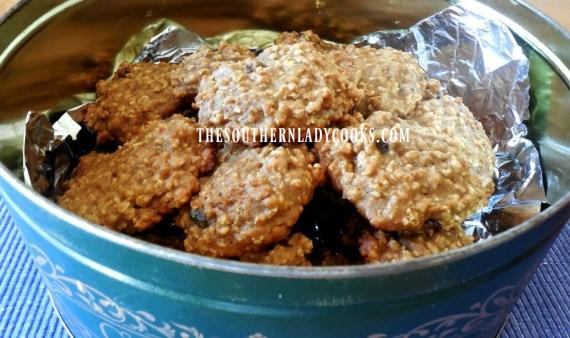 apple butter oatmeal raisin cookies
