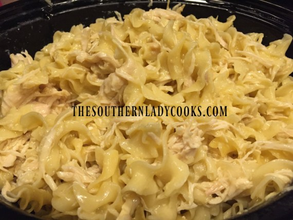 how to cook chicken and egg noodles